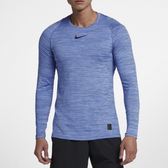 bf8ad7b2a Nike Shirts | Pro Fitted Mens Long Sleeve Training Top | Poshmark